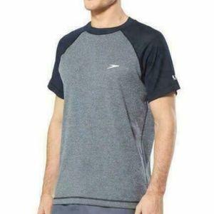Speedo Men's Easy Short Sleeve Swim UV Shirt L